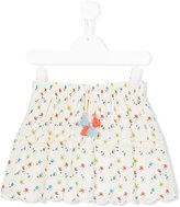 Chloé Kids - floral print skirt - kids - Cotton - 5 yrs