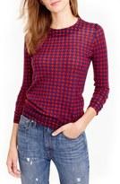J.Crew Tippi Houndstooth Sweater