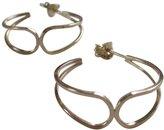 By Boe Overlapping Hoop Earrings 2.5 Inch 14K Gold Filled