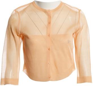 Alaia Pink Silk Knitwear