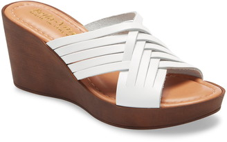 Bella Vita Cat Wedge Slide Sandal