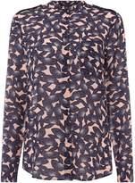 Armani Exchange Long sleeve print woven shirt