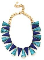Magid Sarah Lazuli Cone Necklace