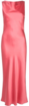Jason Wu Collection Satin Midi Dress