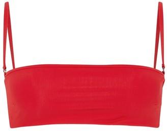 Haight Marcella red bikini top