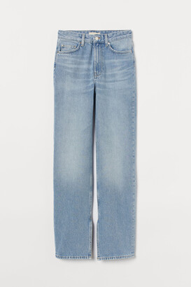 H&M Straight High Jeans