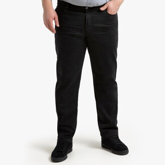 """La Redoute Collections Plus Regular Jeans with Elasticated Waist, Length 33"""""""