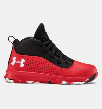 Under Armour Pre-School UA Lockdown 4 Basketball Shoes