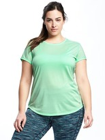 Old Navy Go-Dry Cool Semi-Fitted Plus-Size Tee