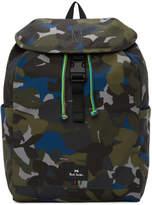Paul Smith Green Camo Backpack