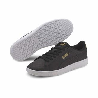 Puma Women's Vikky V2 SIG Sneaker White-Gold Black 3.5 UK