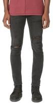 A Gold E AGOLDE Ferg Super Skinny Grit Jeans