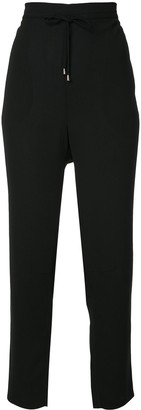 Mads Norgaard Drawstring Tapered Trousers