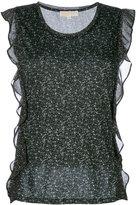 MICHAEL Michael Kors sleeveless ruffle blouse