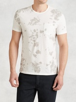 John Varvatos Crewneck Tee with Chest Pocket
