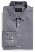 Nordstrom Smartcare TM Trim Fit Herringbone Dress Shirt
