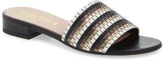 Bella Vita Eli-Italy Woven Slide Sandal