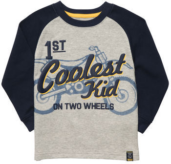 Carter's Long-Sleeve Thermal Graphic Tee