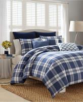 Nautica Closeout! Cunningham Plaid King Comforter Set Bedding