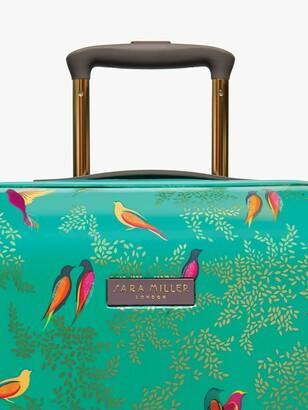 Sara Miller Green Birds 54cm 4-Wheel Cabin Case, Green