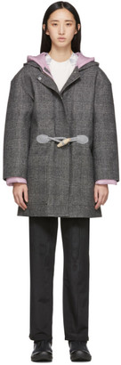 Ienki Ienki Grey Down Woolmark Coat