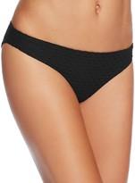 Shoshanna Geo Texture Classic Bikini Bottom