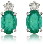 Tagliamonte Incanto Royale Emerald and Diamond 18K Gold Earrings