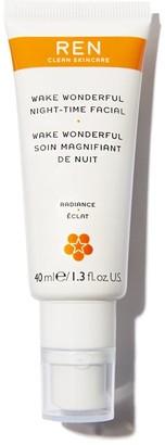 Ren Skincare Ren Wake Wonderful Night-Time Facial 40Ml