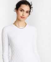 Brooks Brothers Cable-Knit Supima Cotton-Blend Sweater