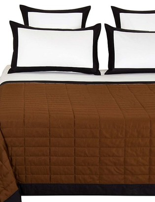 Frette Rectangular 300 Thread Count Cotton Sateen Quilt