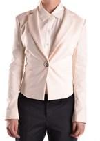 Elisabetta Franchi Women's White Polyester Blazer.