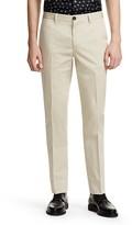 Paul Smith Cotton Linen Regular Fit Trousers