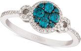LeVian Le Vian Exotics® Diamond Ring (5/8 ct. t.w.) in 14k White Gold