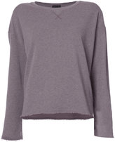 ATM Anthony Thomas Melillo raw edge jumper - women - Cotton - XS