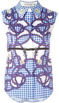 Mary Katrantzou Hoyston shirt - women - Cotton/Spandex/Elastane - 14