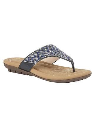 Lotus Patti Mule Sandals Standard D Fit