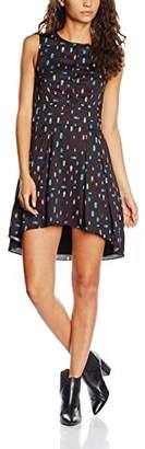 Wolfwhistle Wolf and Whistle Women's Beetle Print Button Front Dress,6