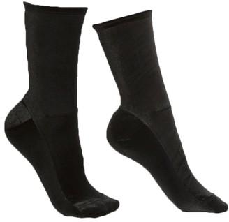 Black Velvet Socks