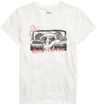 Polo Ralph Lauren Graphic Road Trip T-Shirt