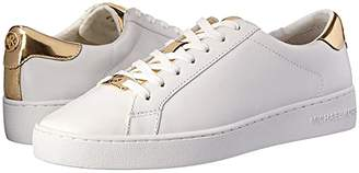 MICHAEL Michael Kors Irving Lace Up (Light Sand) Women's Lace up casual Shoes