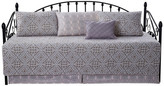 """Serenta Bellamy 6-Piece Quilted Daybed Set, Taupe, Daybed, 75""""x39"""""""