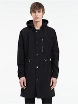 Calvin Klein Platinum Paper Poly Hooded Jacket