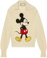 Gucci x Disney embroidered Mickey mouse jumper
