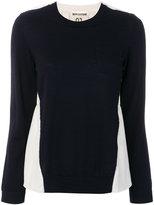 Semi-Couture Semicouture colour-block top