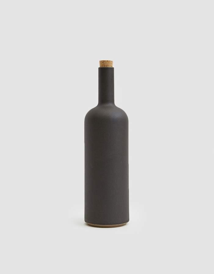 Hasami Porcelain Stone Bottle in Black