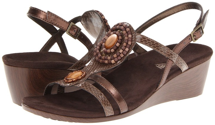 Orthaheel VIONIC with Technology Kelly Strap Wedge