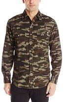 Dickies Men's Long Sleeve Western Camo