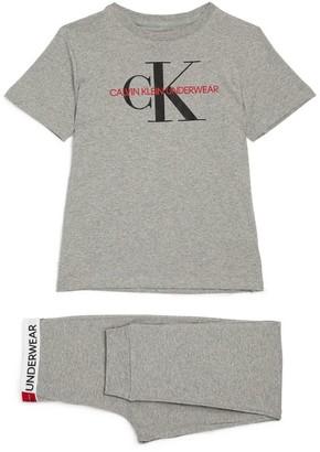Calvin Klein Kids Short-Sleeved Pyjama Set (8-16 Years)