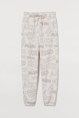H&M Patterned sweatpants