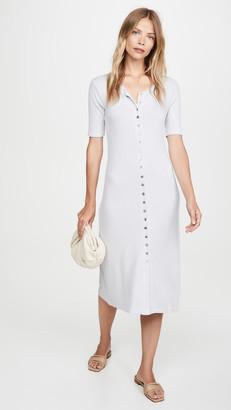 Stateside 5x3 Rib Maxi Button Up Dress